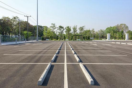 Concrete Parking Curbs