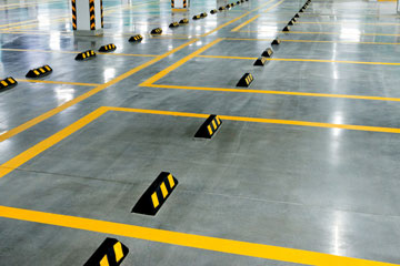Wheel Stops For Commercial Vehicles